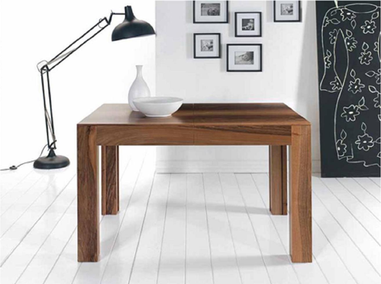 La tavola arredamenti tavoli e sedie mobili in legno massello massiccio quarrata pistoia - Tavolo quadrato allungabile legno massello ...